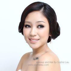 Asian wedding makeup www.sophielau.com