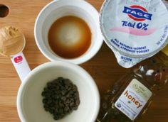 Ingredients for Cookie Dough Greek Yogurt