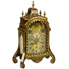 "Rare South German Pendulum Clock Signed ""Joseph Graff"" Ca. 1750 ."