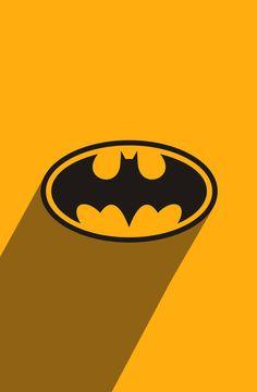 SuperHero long shadow: Batman