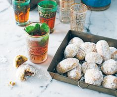 Amina's Biscuits filled with dates or pistachios