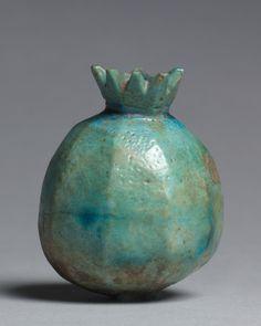 Pomegranate vase, Egypt, 1479-1425 BC