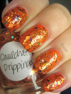 Goose's Glitter: orange