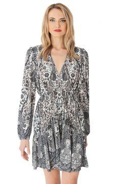 Magdelena Draped Jersey Dress