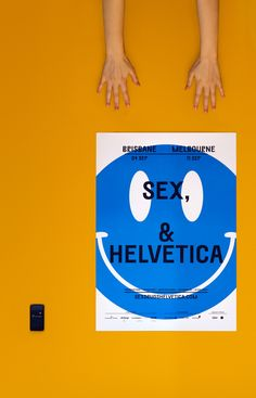 Poster design for the Australian design conference Sex, Drugs & Helvetica. Poster Text, Poster On, Conference Branding, Design Conference, Brisbane, Melbourne, Communication Icon, Studio Cards, Typography Poster Design