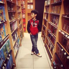 at the Books store