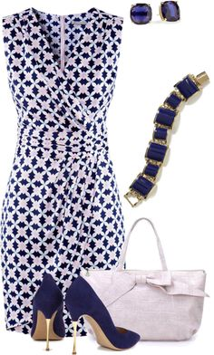 Black and White Printed Dress with Accessories Outfit Zubehör 20 Fabulous Outfit Looks for Work - Pretty Designs Mode Outfits, Casual Outfits, Fashion Outfits, Womens Fashion, Fashion Trends, Work Fashion, Fashion Looks, Mode Chic, Looks Chic