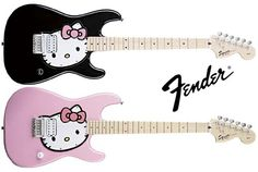 Hello Kitty Fender Stratocaster