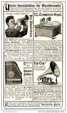 Original-Werbung/Inserat/ Anzeige 1904 - RHEINISCHE MUSIK-MANUFAKTUR GOTTSCHALK - ca. 80 X 150 mm