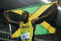 'I am the greatest': Bolt assured place in history with historic Olympic double -   .