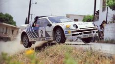 stig blomqvist, ford rs200,  acropolis rallye 1986.