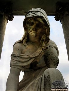 To be idle is a short road to death and to be diligent is a way of life; foolish people are idle, wise people are diligent. Old Cemeteries, Graveyards, Wise People, Cemetery Art, Don't Blink, Dark Places, Memento Mori, Buddha, Death