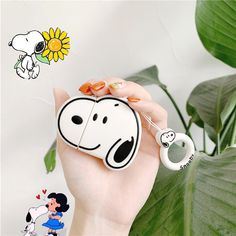 Snoopy Airpods Cases Protective Silicone Skin Cover Case for Apple Airpods 2 1 Cute Phone Cases, Iphone Cases, Best Gaming Headset, Apple Airpods 2, Earphone Case, Air Pods, Leather Phone Case, Airpod Case, Apple Products