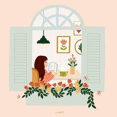 Plant Illustration, Cute Illustration, Digital Illustration, Illustrator, Grafik Design, Cute Drawings, Cartoon Art, Cute Wallpapers, Cute Art
