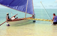 18' traditional Pacific outrigger