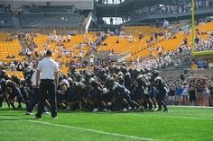 Pitt and Penn State renewed their rivalry at Heinz Field Saturday afternoon, with Pitt taking the first game between the teams in over fifteen years.