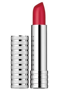 Women's Clinique Long Last Soft Matte Lipstick - Crimson
