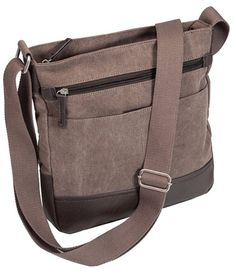 fe98959661ba Bags · Washed Canvas Sling Bag Grey Wash