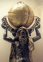 Abb.4 Poseidons ältester Sohn Atlas war der erste König von Atlantis.