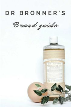 Dr Bronners Brand Guide: Leading-Edge on sustainability, all their products are and contain palm oil that is genuinely sustainable and Best Beauty Tips, Beauty Hacks, Bronners Soap, Pure Castile Soap, Brand Guide, Green Goddess, Palm Oil, Cruelty Free, Sustainability