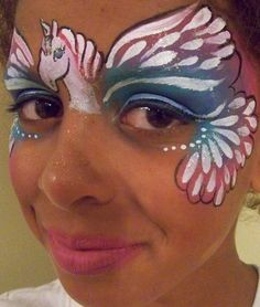 unicorn/pegasus face paint