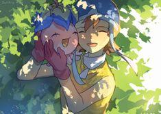 Pyokomon to Sora. <3