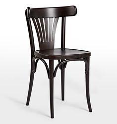 Ton 56 Deco Side Chair Black Wenge D0974
