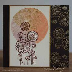 Corine's Gallery: Chocolate Baroque Fantastic Florals
