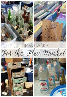 Tips and Tricks for a successful trip to the Flea Market! #fleamarket www.littleglassjar.com