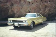 '69 Plymouth Fury III. Learned to drive in one of these. Try parallel parking one of these babies!