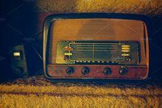 old radio Photos a very old radio by ApertureVintage Radios, Radio Antigua, Technology Photos, Animation Tutorial, Old Photos, Warehouse, Marketing, Creative, Prints