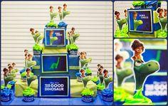The Good Dinosaur DIY Cupcake tower momco