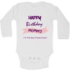 Happy Birthday Mommy Bodysuit