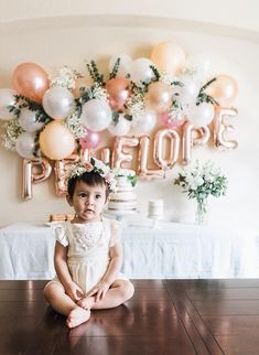The details of this first birthday party were amazingly beautiful Look at that wall with her name Stunning ardenelise Photo by Fall 1st Birthdays, Pumpkin 1st Birthdays, Pumpkin First Birthday, Fall Birthday Parties, 1st Birthday Party For Girls, First Birthday Themes, First Birthday Outfit Girl, First Birthday Photos, Spring Birthday Party Ideas