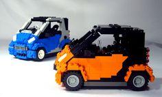 LEGO Smart Cars | Flickr - Photo Sharing!