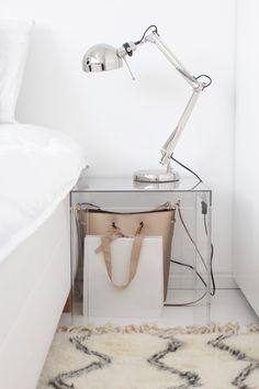 Kartell bedside table | Home Vanilla interior