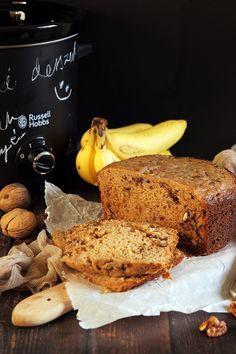 Lassan sült banánkenyér recept - Kifőztük, online gasztromagazin Russel Hobbs, Crockpot, Slow Cooker, French Toast, Bread, Cooking, Breakfast, Food, Kitchen