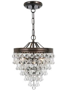 Calypso Pendant. Mini ChandelierAntique ...