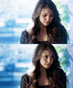 Nina Dobrev as Elena Gilbert on The Vampire Diaries