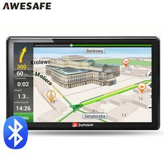 7 inch Car GPS navigation Bluetooth avin 256MB 800Mhz 8GB Full Europe/USA/ Russia navitel navigator Sat Nav Truck vehicle gps (32318339590)  SEE MORE  #SuperDeals