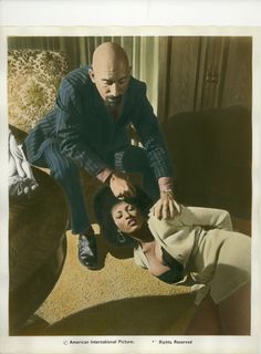 Pam Grier and Sid Haig in Coffy Classic Horror Movies, Horror Films, Old Movies, Great Movies, Foxy Brown Pam Grier, Pamela Green, The Devil's Rejects, Lon Chaney, Horror Pictures