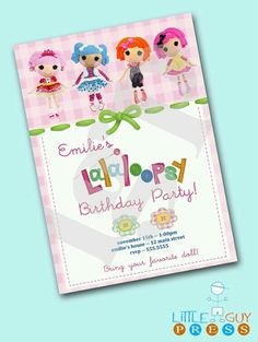 Lalaloopsy invitation