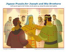 Joseph and His Brothers Jigsaw Puzzle