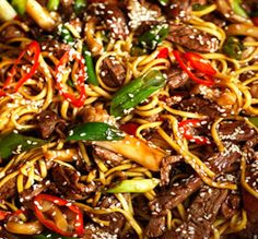 A meal in itself, Sesame Beef Stir Fry made on the AGA cast iron range makes a fantastic work-night dish. Aga Recipes, Clean Recipes, Cooker Recipes, Beef Recipes, Baking Recipes, Dessert Recipes, Skillet Recipes, Savoury Recipes, Sesame Beef