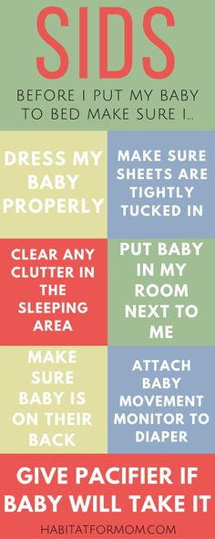 how to lower your babies risk of SIDS. Guide to prevent SIDS in babies. #SIDS #babysleep #habitatformom