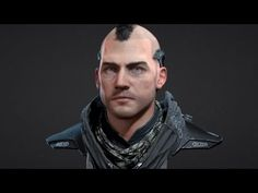 Head Polypainting Timelapse - YouTube