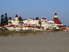 Hotel del Coronado - San Diego.  One of the most beautiful places I've ever been.  You don't have to be a guest to walk through - I highly recommend a visit!