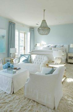 Beautiful Coastal Style Bedroom