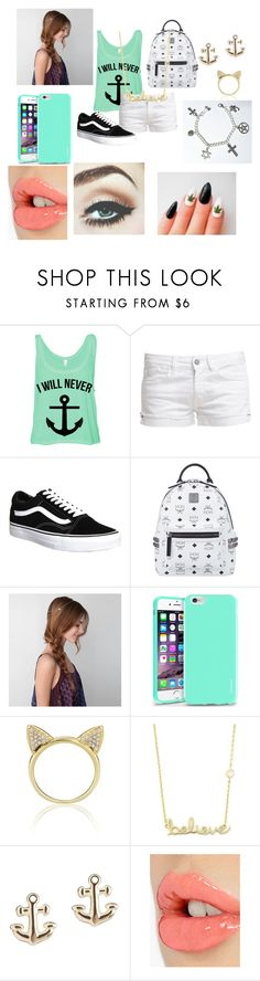 """""""Young Again"""" by niallypotatoes ❤ liked on Polyvore featuring Le Temps Des Cerises, Vans, MCM, American Eagle Outfitters, Insten, Aamaya by Priyanka, Sydney Evan and Charlotte Tilbury"""