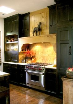 Kitchen Design Ideas, Pictures, Remodels and Decor  DO THIS WITH WHITE CABINETS